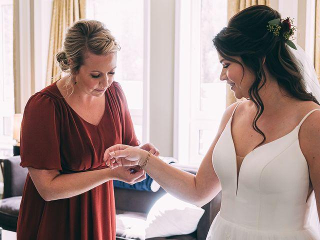 Terrance and Mackenzie's wedding in Banff, Alberta 9