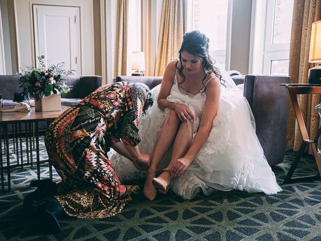 Terrance and Mackenzie's wedding in Banff, Alberta 11