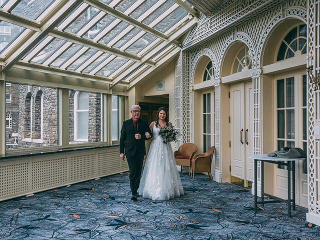 Terrance and Mackenzie's wedding in Banff, Alberta 17