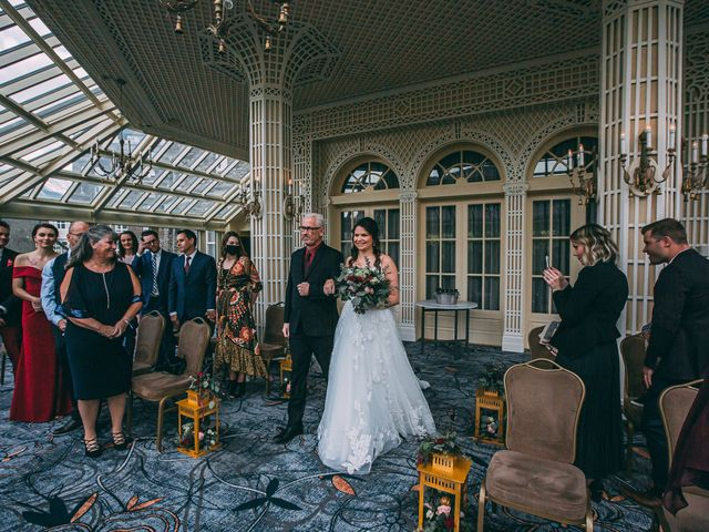Terrance and Mackenzie's wedding in Banff, Alberta 18