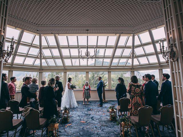 Terrance and Mackenzie's wedding in Banff, Alberta 20