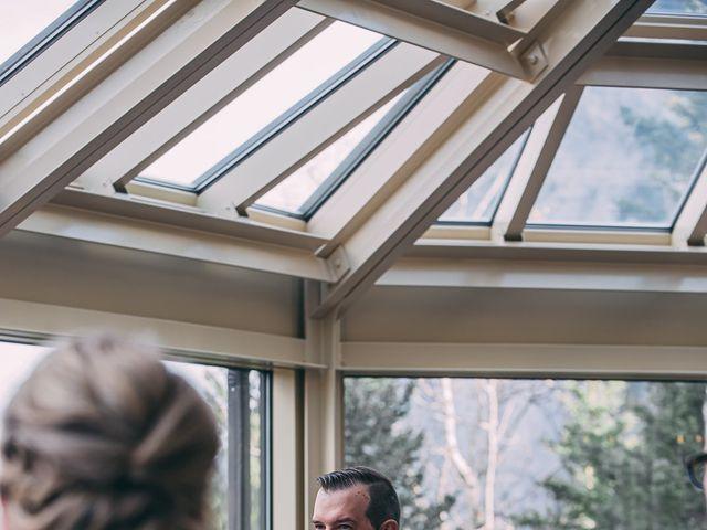 Terrance and Mackenzie's wedding in Banff, Alberta 22