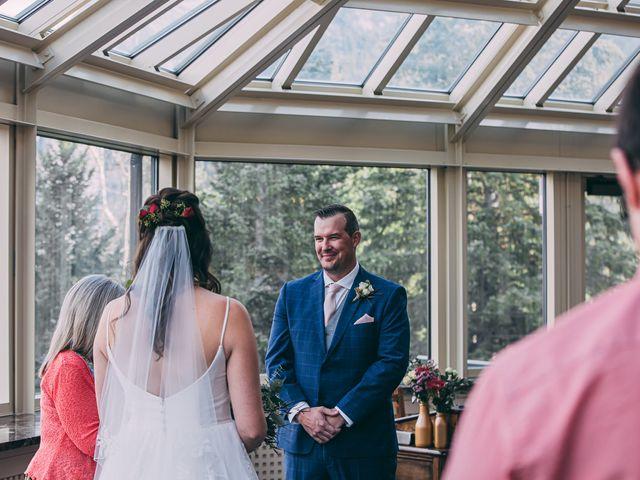 Terrance and Mackenzie's wedding in Banff, Alberta 23
