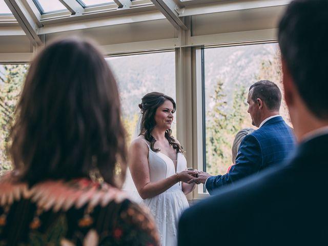 Terrance and Mackenzie's wedding in Banff, Alberta 26