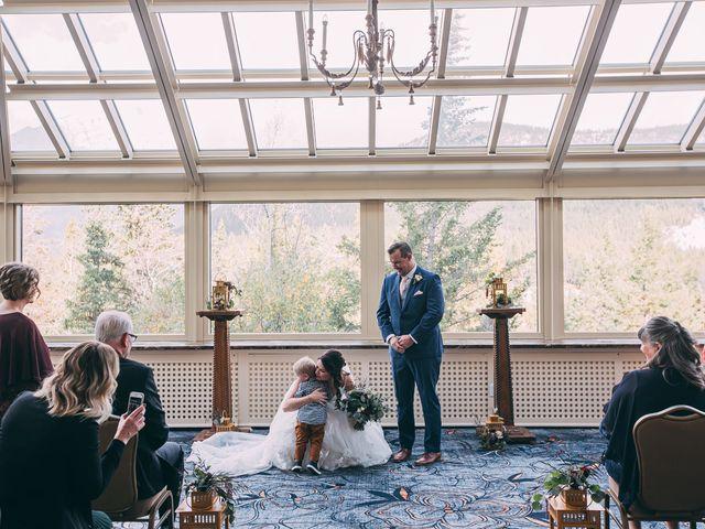 Terrance and Mackenzie's wedding in Banff, Alberta 28