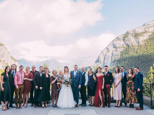 Terrance and Mackenzie's wedding in Banff, Alberta 29