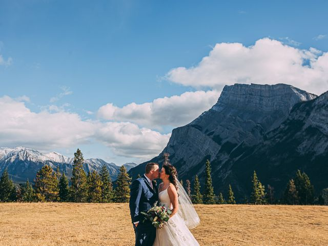 Terrance and Mackenzie's wedding in Banff, Alberta 34