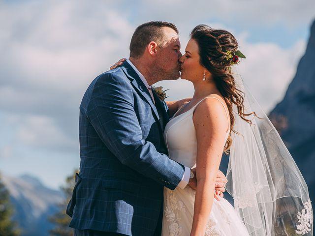 Terrance and Mackenzie's wedding in Banff, Alberta 36