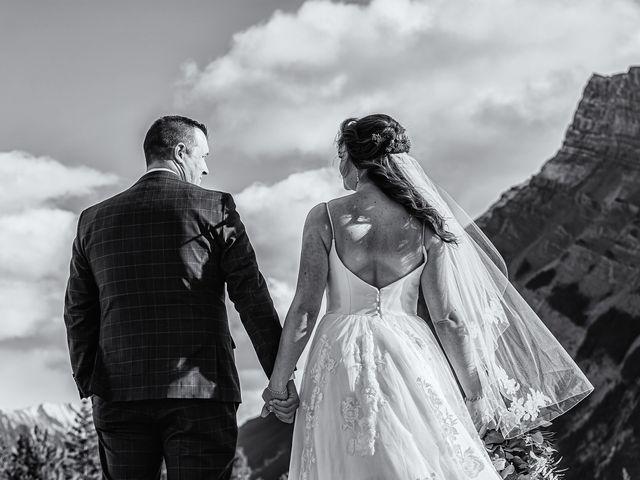 Terrance and Mackenzie's wedding in Banff, Alberta 37