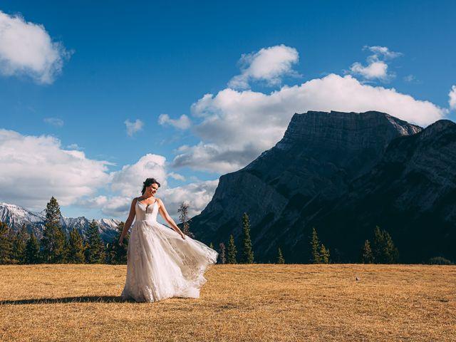 Terrance and Mackenzie's wedding in Banff, Alberta 38