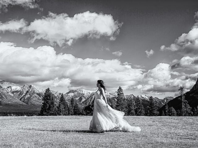 Terrance and Mackenzie's wedding in Banff, Alberta 39