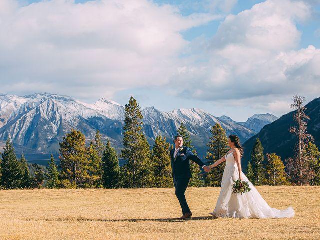 Terrance and Mackenzie's wedding in Banff, Alberta 40