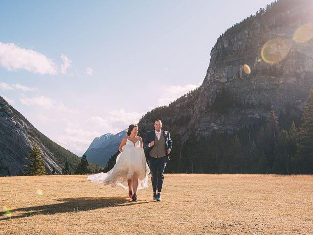 Terrance and Mackenzie's wedding in Banff, Alberta 1