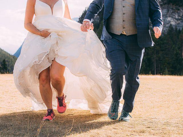 Terrance and Mackenzie's wedding in Banff, Alberta 43