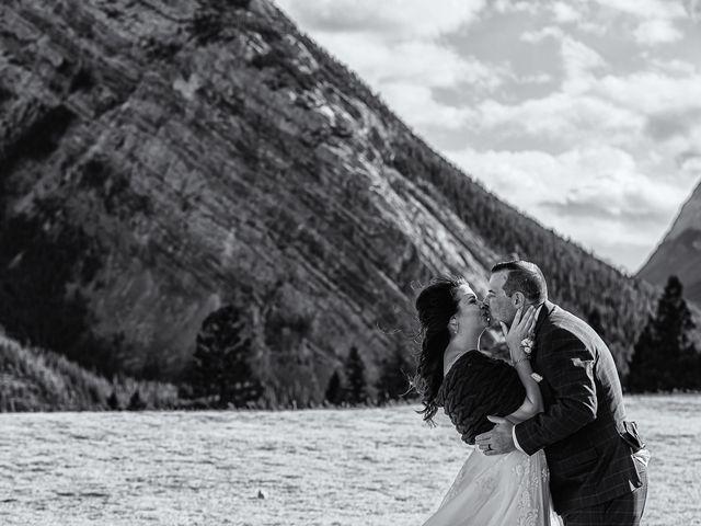 Terrance and Mackenzie's wedding in Banff, Alberta 44