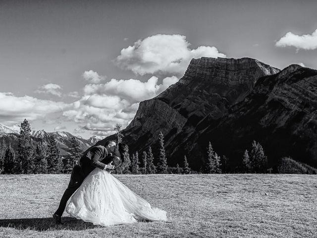 Terrance and Mackenzie's wedding in Banff, Alberta 45