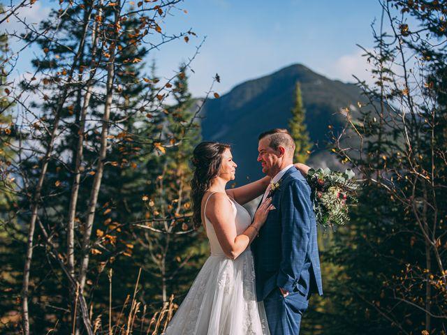 Terrance and Mackenzie's wedding in Banff, Alberta 46