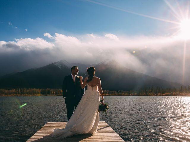 Terrance and Mackenzie's wedding in Banff, Alberta 2