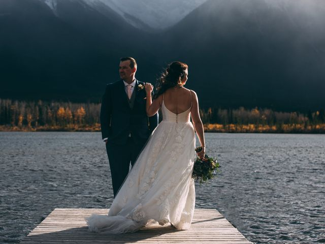 Terrance and Mackenzie's wedding in Banff, Alberta 51