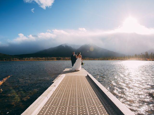 Terrance and Mackenzie's wedding in Banff, Alberta 52