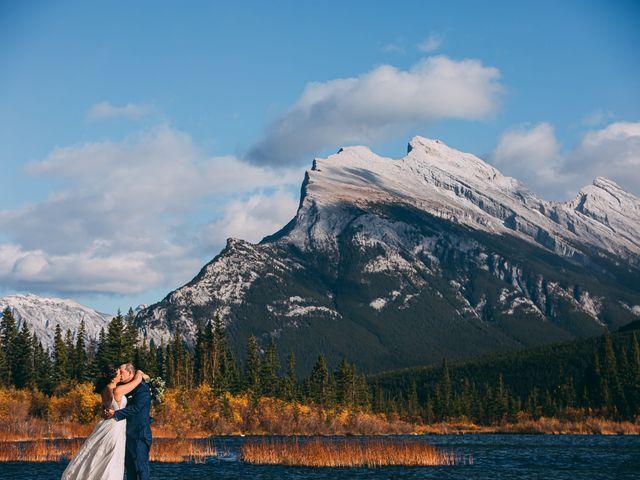 Terrance and Mackenzie's wedding in Banff, Alberta 55