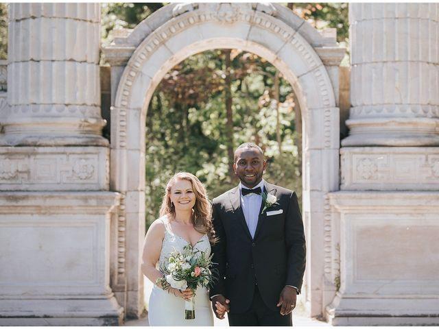 The wedding of Barbara and Nick
