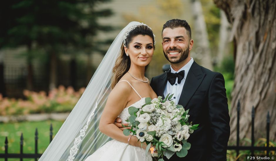 Carlo and Maryana's wedding in Vaughan, Ontario