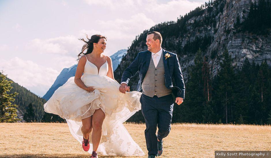 Terrance and Mackenzie's wedding in Banff, Alberta