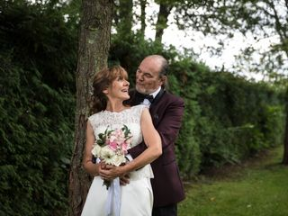 The wedding of Louise and Robert