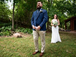 The wedding of Jess and Billy 2