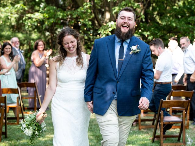 The wedding of Jess and Billy