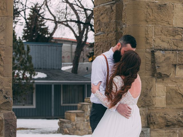 Don and Cherise's wedding in Calgary, Alberta 6
