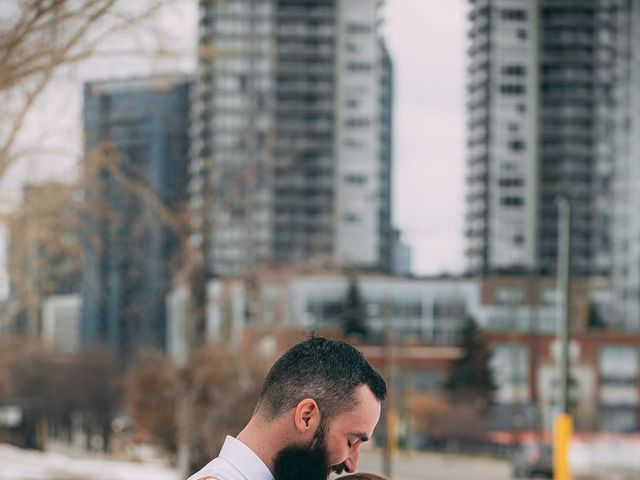 Don and Cherise's wedding in Calgary, Alberta 8