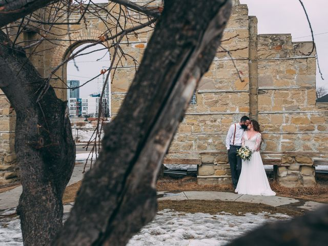 Don and Cherise's wedding in Calgary, Alberta 16