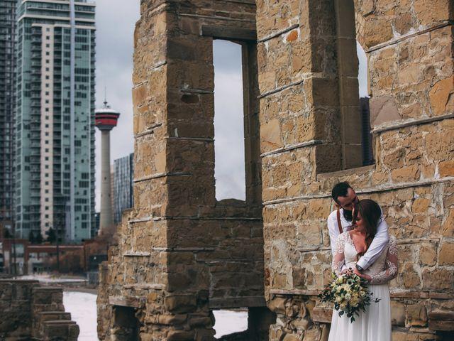 Don and Cherise's wedding in Calgary, Alberta 17
