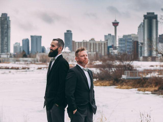 Don and Cherise's wedding in Calgary, Alberta 26