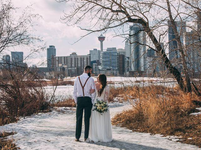 Don and Cherise's wedding in Calgary, Alberta 42