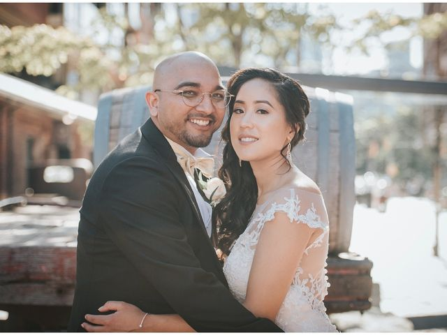 The wedding of Kristine and Kregg