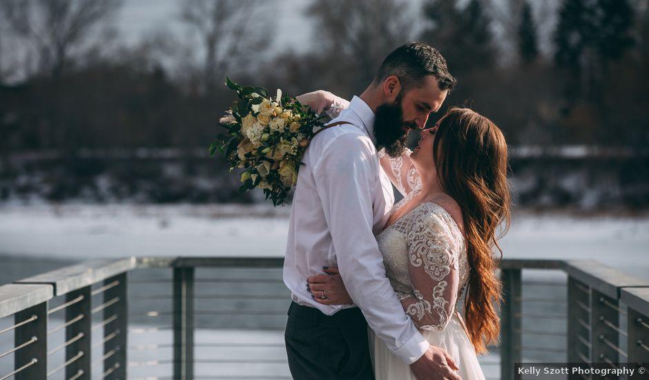 Don and Cherise's wedding in Calgary, Alberta