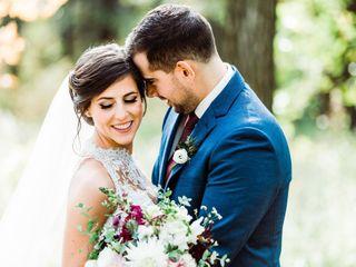 The wedding of Alix and Nick