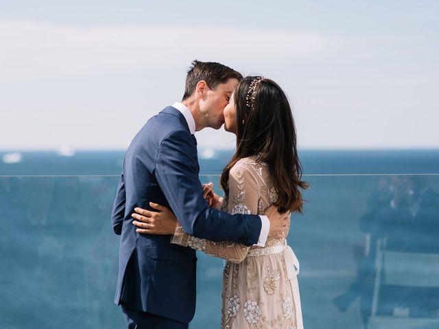 The wedding of Irene and Chris