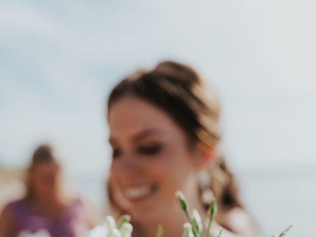 Jake and Cary's wedding in Grand Bend, Ontario 5