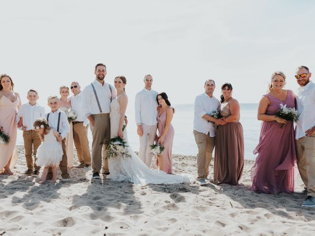 Jake and Cary's wedding in Grand Bend, Ontario 12
