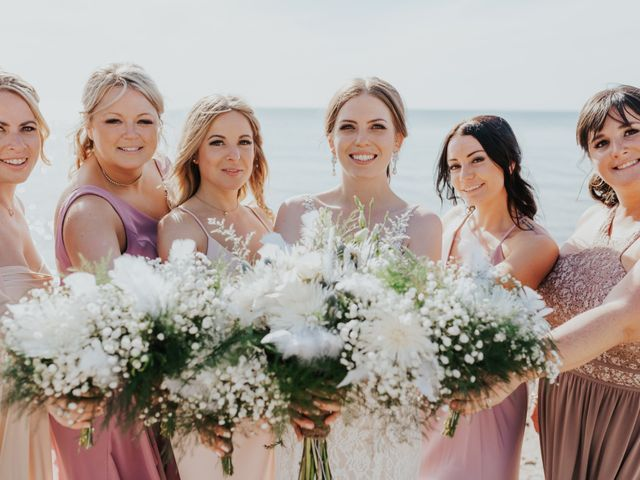 Jake and Cary's wedding in Grand Bend, Ontario 1