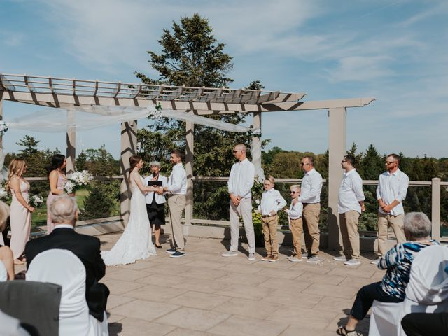 Jake and Cary's wedding in Grand Bend, Ontario 2