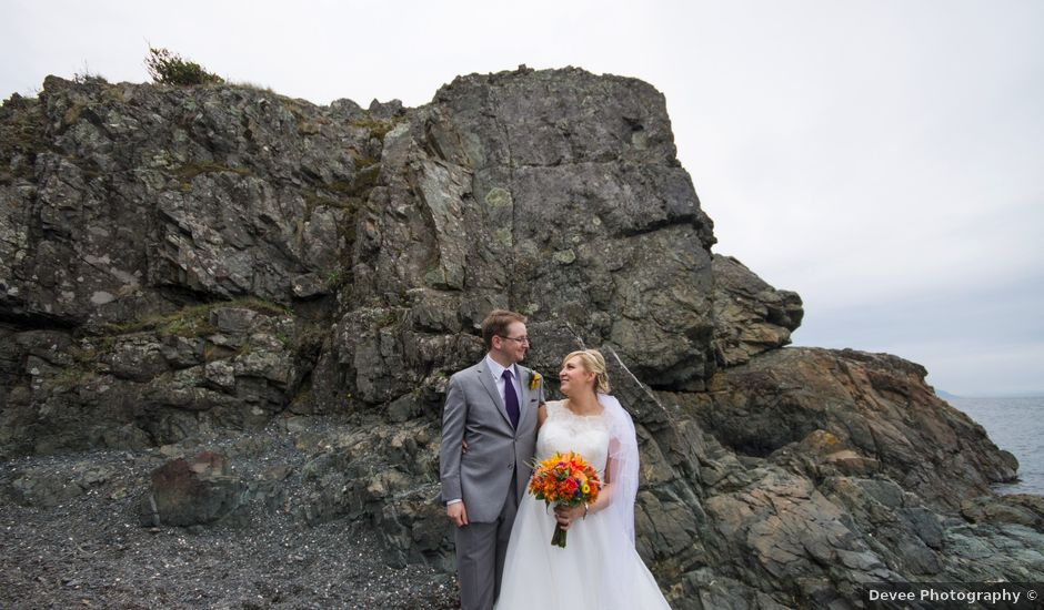 Timothy and Stephanie's wedding in Nanaimo, British Columbia