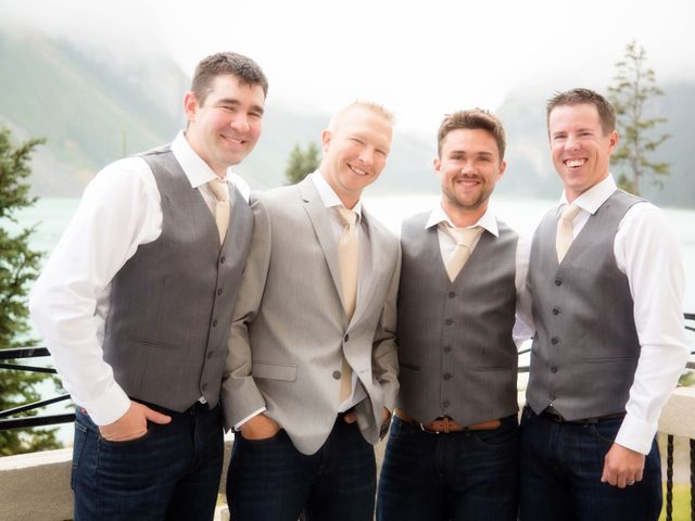 Richard and Alexis's wedding in Lake Louise, Alberta 7