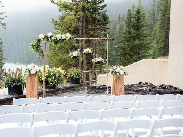Richard and Alexis's wedding in Lake Louise, Alberta 10