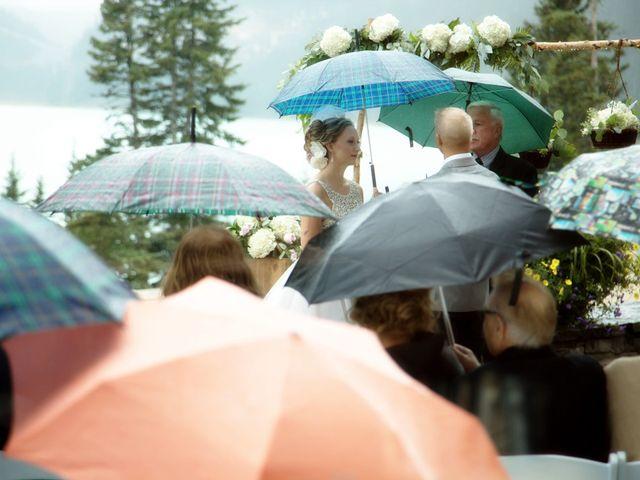 Richard and Alexis's wedding in Lake Louise, Alberta 18