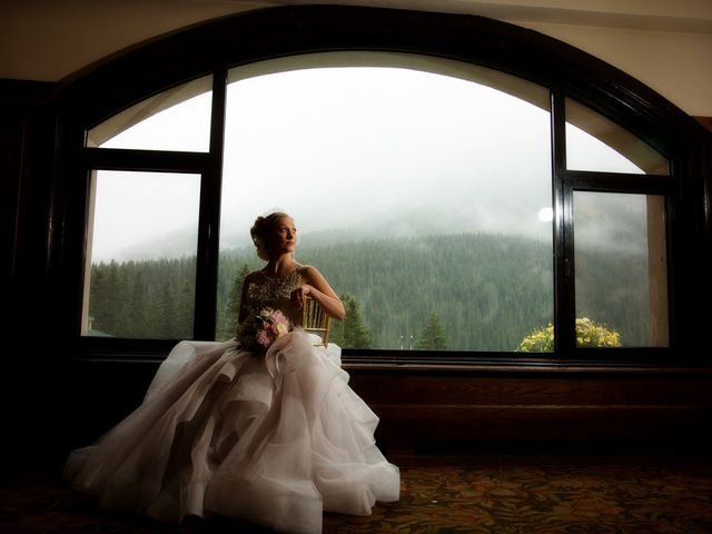 Richard and Alexis's wedding in Lake Louise, Alberta 22